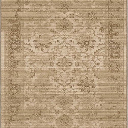 "Orian - Orian Empire Mahal (White) 7'10"" x 10'10"" Rug - This Machine Woven rug would make a great addition to any room in the house. The plush feel and durability of this rug will make it a must for your home. Free Shipping - Quick Delivery - Satisfaction Guaranteed"