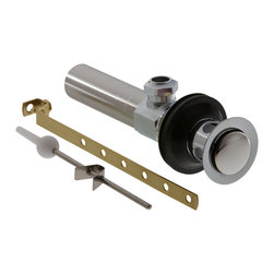 Delta Drain Assembly - Lavatory - Metal - Less Lift Rod and Knob - RP26533 - Timeless design for today's homes