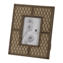 "Lazy Susan - Canvas Wire Frame, 4"" X 6"" - -Use 4""X 6"" Photo"
