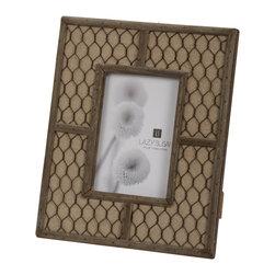 "Lazy Susan - Canvas Wire Frame, 4"" X 6"" - -Use 4""X 6"" Photo"