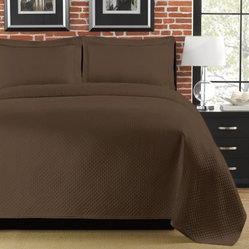 Lamont Home Diamante Coverlet Set