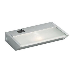 Kichler - Kichler 120V Direct-Wire 1-Light Xenon 120v/20w - 12011SI - This 1-Light Undercabinet Light is part of the Direct Wire 120v Xenon Collection and has a Silver Various Finish.