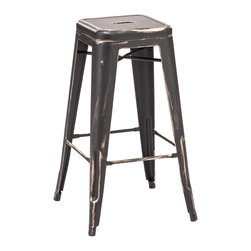 Design Lab MN - Amalfi Stackable Barstool, Matte Black, Set of 4 - The amalfi steel stackable barstool is a fantastic designed barstool to add to any restaurant, bistro or coffee house. This barstool is produced in rolled steel which can withstand any high traffic area. It also can be stacked to save space if needed. Produced by Design Lab MN, this product is manufacturer to highest standards in the furniture industry.