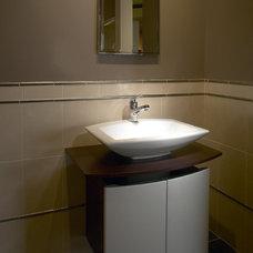 Modern Bathroom by Clarke Appliance Showrooms