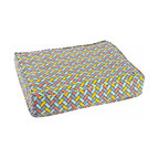 Molly Mutt - Under Pressure Duvet, Medium/Large - inspired by subway tile designs and infused with a mid-century color pallet to bring a bit of flair to a classic design.