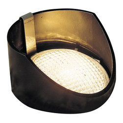LANDSCAPE - LANDSCAPE Yoke Held PAR 36 Outdoor Well Light X-KB88051 - From Kichler Lighting, this outdoor well light features a circular shape with a reversible support sleeve that is perfect for directing light in an uplighting scheme. The Black finish allows it to seamlessly blend into the background and go undetected.