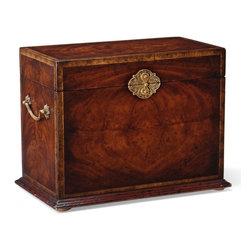 Jonathan Charles - New Jonathan Charles Box Mahogany Brass - Product Details