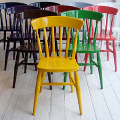contemporary chairs Hand-Painted Windsor Chair
