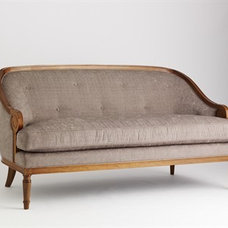 Traditional Sofas by Jan Showers