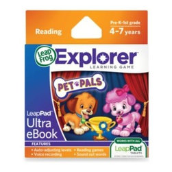 Leap Frog - LeapFrog Explorer Pet Pals: Show Dog Detectives Ultra eBook - The Pet Pals LeapFrog LeapPad Ultra eBook will take your children on an exciting reading adventure, where their choices can change the story's ending.