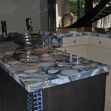 Modern Kitchen Countertops by Eurostar Marble and Granite Inc