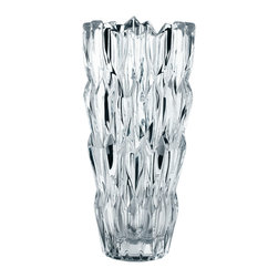 Nachtmann - Nachtmann Quartz Vase Pratt Design, Large - Nachtmann nonlead Crystal vase designed by Catherine Merrick and chosen as one of Nachtmann's next generation of designers in collaborations with Pratt School of Design in 2010.
