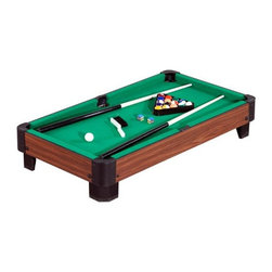 """40"""" Tabletop Pool Table - -Great for dorm rooms, kids' rooms, and even on-the-go!"""
