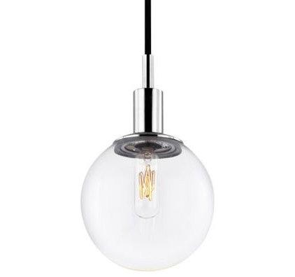 Pendant Lighting Orb Clear Pendant by Sonneman