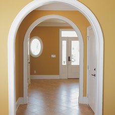 Contemporary Hall by CRG Construction