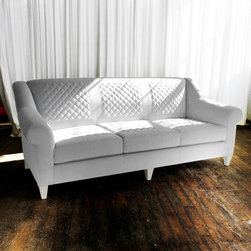The New Traditionalists - Sofa no. Two Twenty - FINISHES AND MATERIALS SHOWN