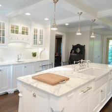 Traditional Kitchen by Custom Marble & Granite
