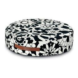 Missoni Home - Vevey B&N Round Floor Cushion | Missoni Home - Design by Rosita Missoni.