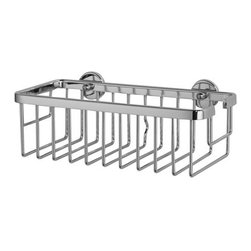 nie wieder bohren - Germany - Shower Caddies- no drilling required! - no drilling required ALUXX Shower Caddy 10in. x 5in. x 3-1/2in. All aluminum construction and lifetime rustproof performance. Part number AL131-CHR