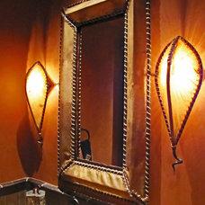 Eclectic Bathroom Vanity Lighting by Steel & Stone
