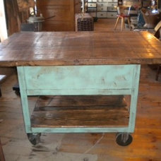 Traditional Kitchen Islands And Kitchen Carts by portlandsalvage.com