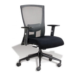 Jesper Office Furniture - Hanna Office Chair -Sterling - Features: