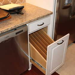 KITCHEN TRAY DIVIDER DRAWER CABINET - Call us for an estimate!