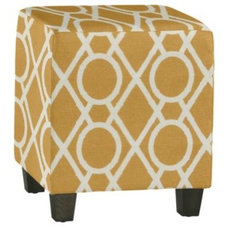 Contemporary Ottomans And Cubes by Ballard Designs
