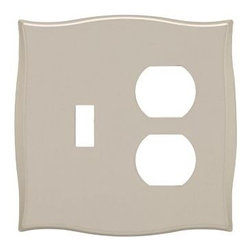 Liberty Hardware - Liberty Hardware 144057 Selby WP Collection 4.96 Inch Switch Plate - Bronze W/Co - A simple change can make a huge impact on the look and feel of any room. Change out your old wall plates and give any room a brand new feel. Experience the look of a quality Liberty Hardware wall plate.. Width - 4.96 Inch,Height - 4.88 Inch,Projection - 0.27 Inch,Finish - Bronze W/Copper Highlights,Weight - 0.53 Lbs