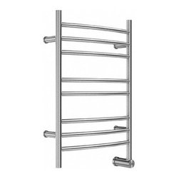 mr. steam - Mr. Steam W328 Towel Warmer - Stainless Steel - Transforming bathrooms into private spas, Mr. Steam has been in the business of creating well designed and durable steam products for over 50 years. The ultimate indulgence after a steam bath or shower is wrapping yourself in a freshly warmed towel. Mr. Steam's Series 300 towel warmers are available in freestanding and wall mounted options, providing a luxury you won't want to resist. Towel warmers create a straight from the dryer warmth on towels and clothing. They also dry damp towels to help prevent mildew, are a place to dry your delicates, and to warm up blankets or quilts at night. Mr. Steam uses sustainable recyclable stainless steel in all home products and includes a 2-Year Limited-Warranty for towel warmers. Features & Specs Made of only the highest quality stainless steel Available in brushed or polished finish Wall-mount models save space and give a built in look Sure to please the most discerning decorator with graceful design cULus Listed All diagrams are for illustrative purposes only Standard with built in Aromatherapy oil well Wall-mount units available with factory installed power cord 98 Watts, 120 Volts 2-Year Limited-Warranty for towel warmers View Specs, Installation, and Operation Information for the 300 Series