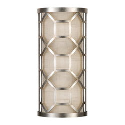 Allegretto Silver Sconce, 816850GU