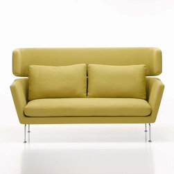 Vitra - Vitra | Suita Two Seater Sofa with Headrest Section - Design by Antonio Citterio, 2010.