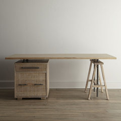 eclectic desks by Horchow