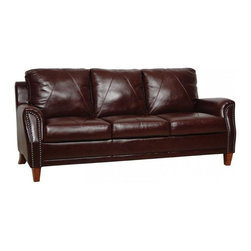 Luke Leather - Austin 3 Piece Set - Austin-SCO - Set Includes Sofa, Chair and Ottoman