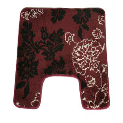 EverRouge - Memory Foam Floral Contour Bath Mat - This memory foam rug is the perfect combination of luxury and comfort. With 35D high density memory foam and truly handmade rug construction, this rug has set itself far apart from the competition.