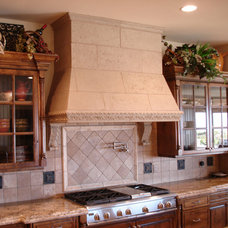 Traditional Kitchen Countertops by Realm of Design