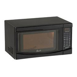 Avanti - Avanti 0.7 Cubic Foot Black Electronic Microwave with Touch Pad - Avanti 0.7 cubic foot black electronic microwave with touch pad.