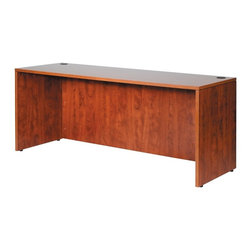 BossChair - Boss Credenza Shell, Cherry 71 x 24 - 71 credenza shell, most commonly used with the N101 desk shell to accessorize the executive suite. Finished in rich and durable Cherry laminate with a 3mm edge band.