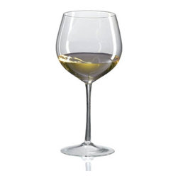 Ravenscroft - Ravenscroft Amplifier Grand Cru White Burgundy Wine Glass - Set of 4 - W6506 - Shop for Drinkware from Hayneedle.com! The Ravenscroft Amplifier Grand Cru White Burgundy Wine Glass features a short round cup with a wide mouth. The wide bottom of the cup increases the surface area of the wine for proper breathing. This wine glass is ideal for these grape varietals and wines: Burgundy (white) Corton-Charlemagne Montrachet and New World Chardonnay.Ravenscroft Crystal is the embodiment of old-world European craftsmanship blended with modern understanding of how a wine glass enhances the tasting experience. Each style of glass that Ravenscroft offers is the result of many years of glass-making trial and error. Each type of glass is individually designed and crafted to enhance the bouquet and taste of the wine or spirit for which it was made. The combination of being perfectly formed and light to the touch allows the bouquet to deliver the essence of the wine and spirits to the proper zones of the palate. To reduce the transfer of hazardous toxins into the beverage all Ravenscroft crystal products are lead-free.