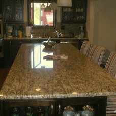 Contemporary Kitchen Countertops by Amf Brothers Granite & Marble