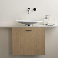 Contemporary Bathroom Storage by Hydrology