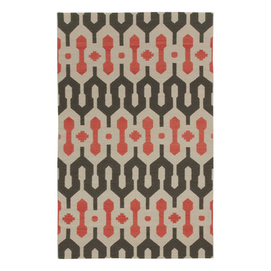 L'Alhambra rug in Pigeon Salmon -
