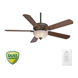 "Casablanca - Casablanca 55006 Ainsworth 60"" 5 Blade Ceiling Fan - Blades, Light Kit, and Wall - Included Components:"