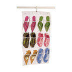 Richards Homewares - Richards Homewares Clear Vclear - * Made of clear vinyl to neatly store and view your shoes