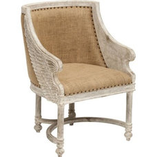Eclectic Accent Chairs by High Fashion Home