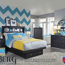 Berg Furniture - Berg Furniture Spring  2013 - Style# 22-87-82. Shown in the new sable finish.  Available in a variety of  finishes, trim colors and knob colors