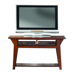 Liberty Furniture - Liberty Furniture Cabin Fever Traditional TV Stand in Brown - This enthralling entertainment center makes a must-have addition. With a versatile build and attractive looks, this entertainment center provides makes a brilliant solution to providing optimal storage and display space. Adding this entertainment center is a smart move. What's included: TV Stand (1).