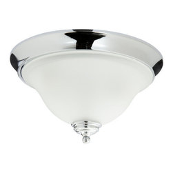 Mirabelle - Mirabelle MIRSAFMLGT St. Augustine 2-Light Flush-Mount Bathroom Ceiling Fixture - Product Features:
