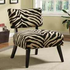 Contemporary Living Room Chairs by Inspired Home Decor