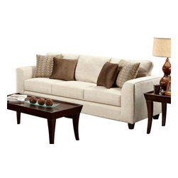 Chelsea Home Furniture - Chelsea Home Camden Sofa in Butler Oyster - Camden Sofa in Butler Oyster belongs to Verona VI collection by Chelsea Home Furniture.